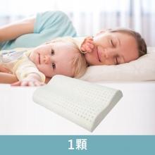 賽里絲乳膠枕1顆 [經典側睡款(62*42*12CM)]