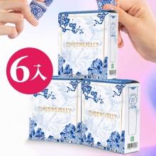 CheersJelly低卡舉杯蒟蒻凍-龍鳳青花瓷款6入(限定500盒售完為止 )
