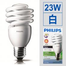 螺旋省電燈泡 23W/110V [白]