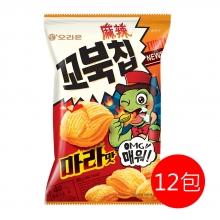 好麗友烏龜玉米脆片(麻辣)(12包)