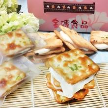采傑香蔥牛軋餅(15入)