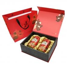 阿里山頂級阿爸高山紅茶【精裝禮盒】(4兩*2罐)
