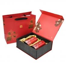 阿里山頂級烏龍青茶(冬片)【精裝禮盒】(4兩*2罐)