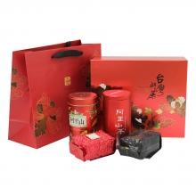阿里山頂級茶-組合A【精裝禮盒】(4兩*2罐)