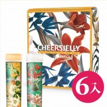 CheersJelly低卡舉杯蒟蒻凍膠原蛋白春季款6入