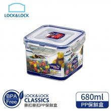 1A01-HPL851樂扣樂扣PP保鮮盒680ML/B6C24