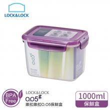 1A01-ZZF111V樂扣樂扣O.O5長型保鮮盒1L紫蓋C24