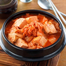韓式泡菜臭豆腐鍋