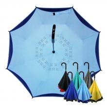 雅色王自動防風反向傘 [水樣藍]
