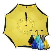 雅色王自動防風反向傘 [檸檬黃]