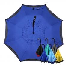 雅色王自動防風反向傘 [寶石藍]