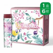 CheersJelly低卡舉杯蒟蒻凍(6入)(葡萄口味)