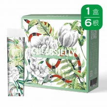 CheersJelly低卡舉杯蒟蒻凍(6入)(荔枝口味)