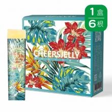 CheersJelly低卡舉杯蒟蒻凍(6入)(芒果口味)