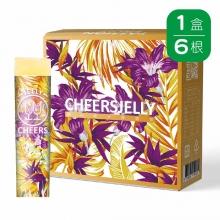 CheersJelly低卡舉杯蒟蒻凍(6入)(百香果口味)