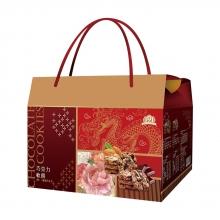 191巧克力軟餅禮盒(葡萄12入、杏仁12入)