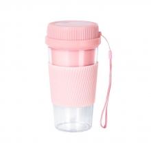 便攜式榨汁杯 300ML-粉色