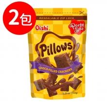 Oishi 巧克力風味枕頭造型餅乾(CO036)2包