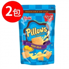 Oishi 起司風味枕頭造型餅乾(CO037)2包
