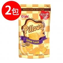 Oishi 榴槤風味枕頭造型餅乾(CO038)2包