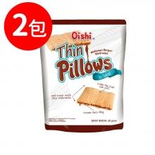 Oishi 巧克力風味薄枕頭造型餅乾(CO040)2包