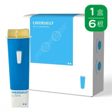 Cheersjelly舉杯低卡水蜜桃蒟蒻凍葉黃素款(6入)
