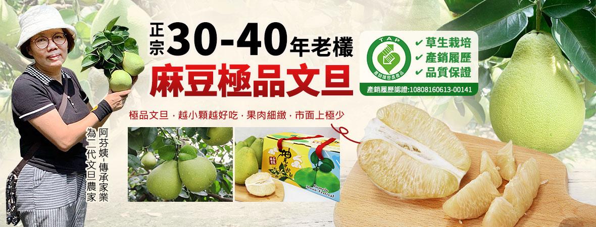 正宗30~40年老欉麻豆文旦